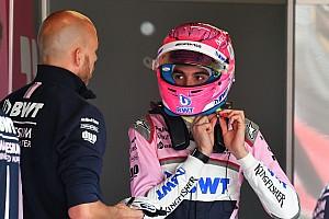Forma-1 Motorsport.com hírek Ocon Pérez dobogója miatt nehezen nyeli le a bakui kiesést