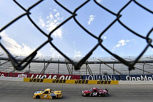 NASCAR Truck Breaking news Experience beats youth in latest father vs. son battle