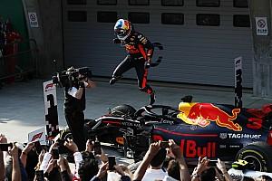 F1 レースレポート 中国GP決勝:リカルド&レッドブル、幸運と決断力で今季勝利を掴む