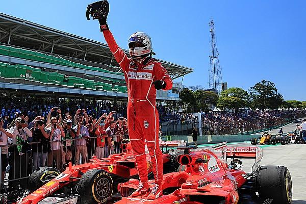 Vettel se lleva el triunfo en Brasil ante una remontada de Hamilton