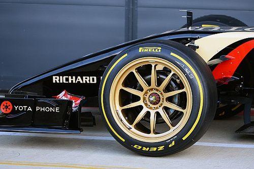 F1 bisa semakin kencang dengan pelek 18 inci - Pirelli