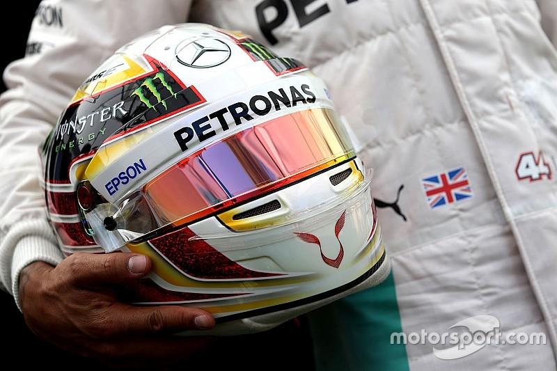 Hamilton ajak fans desain helm F1 2017