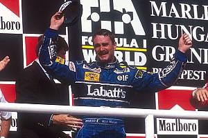 25 років тому Найджел Менселл став чемпіоном світу Формули 1