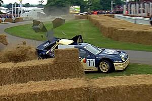 Vintage Son dakika Ford RS200 bir gecede hurdadan çalışır hale getirildi