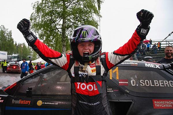 Rallye News Sohn von Petter Solberg wird jüngster Rallycross-Sieger