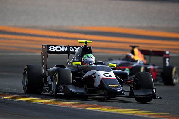 Pulcini y Aitken concluyen como los más rápidos del test en GP3