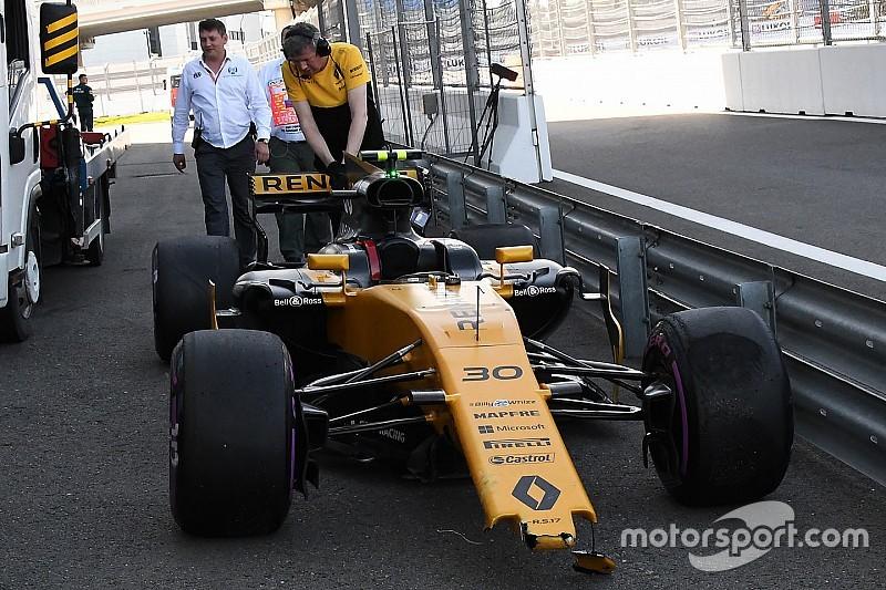 Палмер разбил машину в квалификации, потому что «сильно старался»