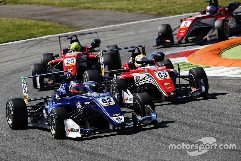 Илотт выиграл третью гонку Ф3 в Монце