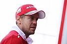 Sebastian Vettel niega pánico en Ferrari ante la reacción de Mercedes