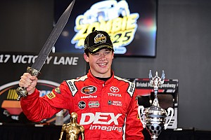 NASCAR Breaking news Burton scores first NASCAR K&N Pro Series East win