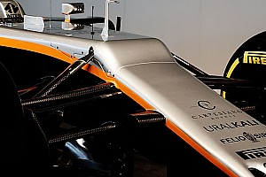 Force India explique le design