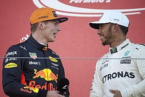 Hamilton ziet Verstappen als een van zijn grootste rivalen