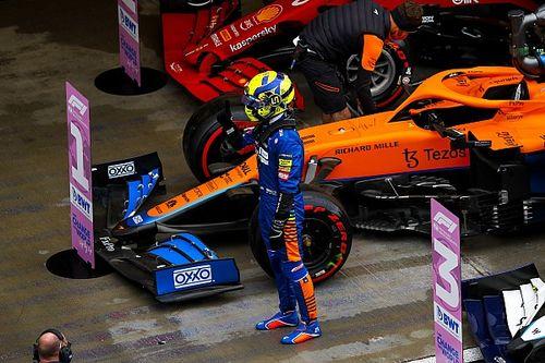 Norris sorprende con la pole en Rusia seguido de Sainz y Russell