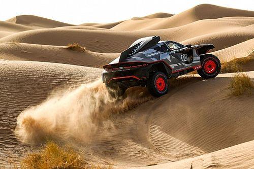 Dakar: Audi completa i primi test con il prototipo RS Q e-tron