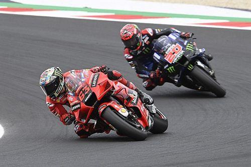MotoGP: Bagnaia reduz vantagem de Quartararo no mundial após San Marino; confira classificação