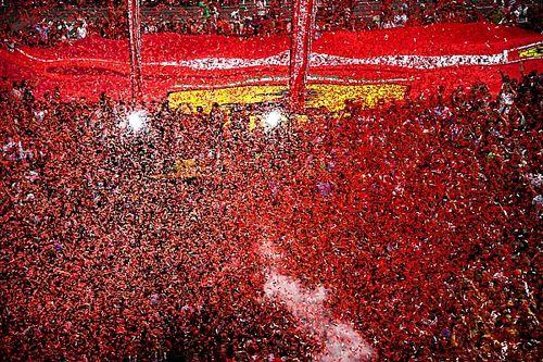 VÍDEO: Veja a festa dos tifosi, fanática torcida da Ferrari na Itália