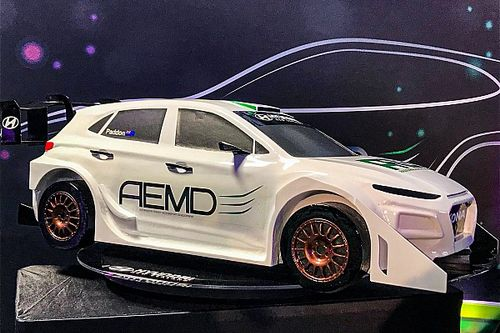 Paddon unveils world-first electric rally car project