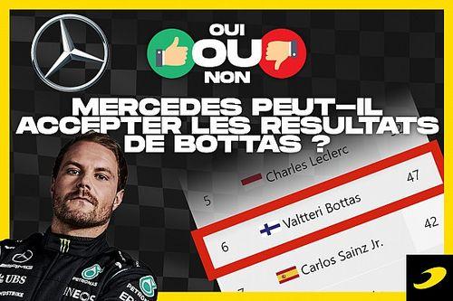 Débat - Mercedes peut-il accepter les résultats de Bottas ?