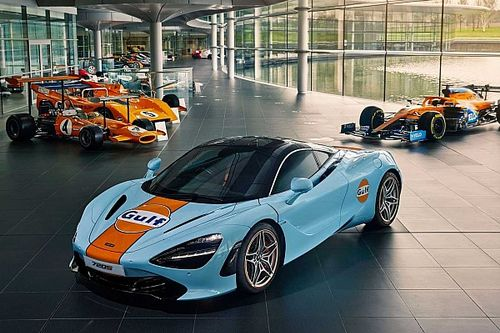 McLaren 720S gets stunning Gulf livery painted by hand