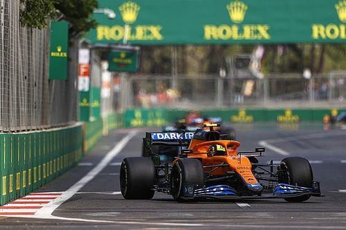 """Norris: """"Ferrari, virajlarda bizden daha iyi"""""""