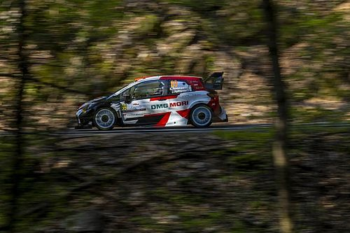 WRC points leader Rovanpera crashes out of Rally Croatia