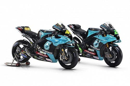 Fotos: así luce la nueva Petronas Yamaha de Valentino Rossi
