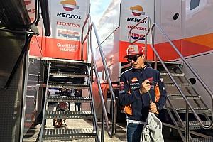 Marquez sudah keluar dari rumah sakit