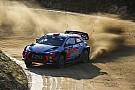 WRC Sordo lidera y Toyota sufre en Portugal