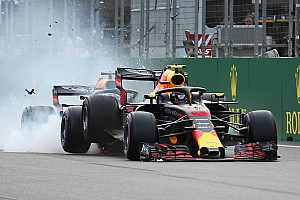 Formel 1 Fotostrecke Fotostrecke: Der Red-Bull-Crash in Baku