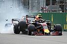 GALERÍA: El choque de Daniel Ricciardo y Max Verstappen en la F1