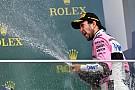 """3º, Perez celebra: """"fiz as duas melhores voltas da vida"""""""