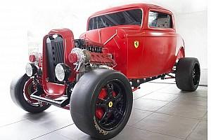 OTOMOBİL Son dakika Çift turbolu Ferrari motorlu 1932 model Ford