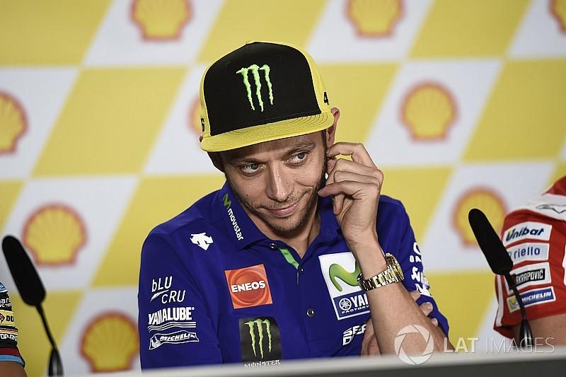 """Para Rossi, duas últimas corridas são """"vitais"""" para 2018"""