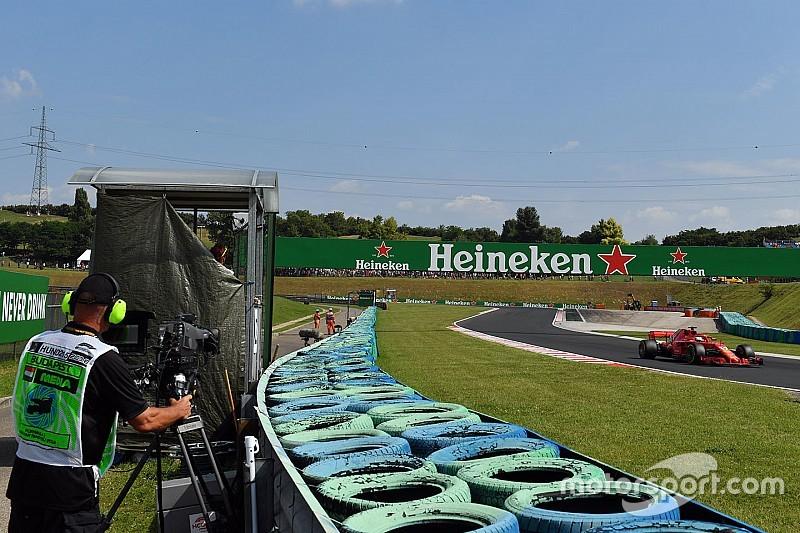 La F1 studia nuove posizioni per le telecamere per aumentare qualità di velocità e suono delle auto