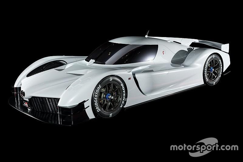 El increíble concept de Toyota basado en el TS050 Hybrid del WEC