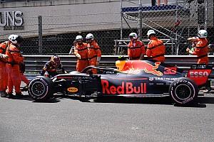 Fórmula 1 Declaraciones Verstappen acepta la culpa de su accidente en Mónaco
