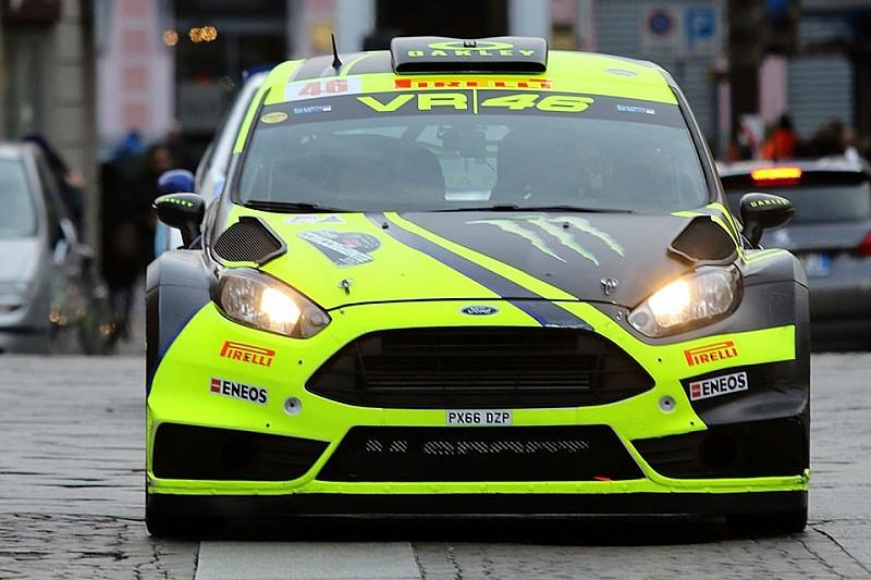 Auftakt Monza-Rallye: Zeitstrafe verhindert Rossi-Führung