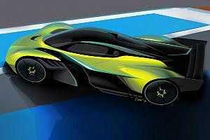 Aston Martin представила гоночну версію гіперкара Ньюі
