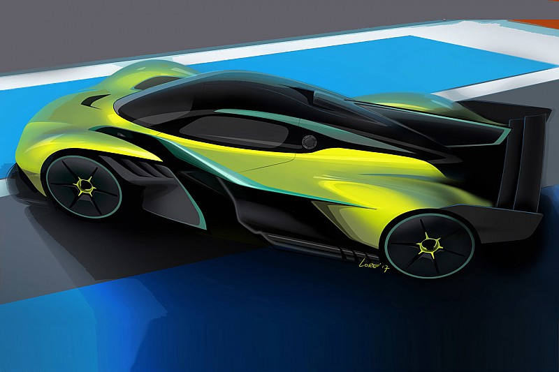 Aston Martin reveals track version of Newey's hypercar