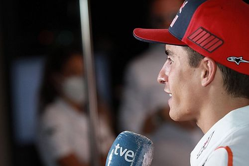 Marquez pracuje nad kondycją