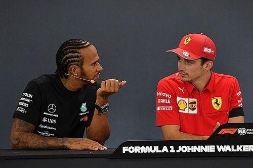 """Hamilton: """"Leclerc mi ha insegnato come comportarmi con lui"""""""