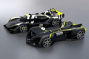 Une course de Roborace avec des équipages semi-artificiels