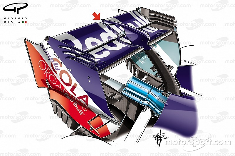 Toro Rosso: la carenatura del comando DRS ha evitato il bloccaggio del flap mobile