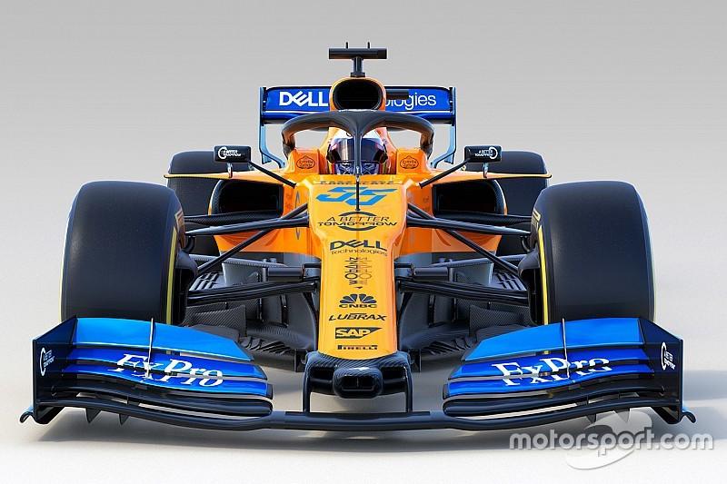 McLaren, 2019 F1 aracı MCL34'ü tanıttı!
