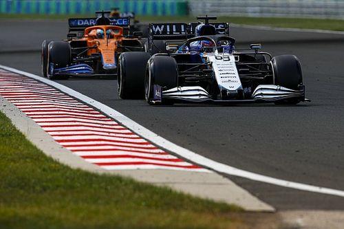Williams, 18 inç lastikleri test etmeyecek