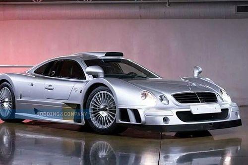 L'une des 20 Mercedes CLK GTR existantes est à vendre