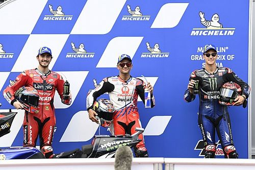 La grille de départ du GP de Styrie MotoGP