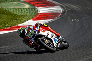 MotoGP Testing report Iannone leads Ducati 1-2-3-4 on final day of Austria test