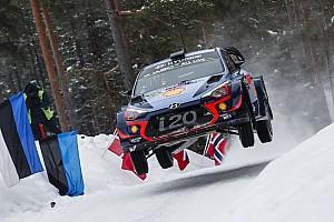 WRC Resumen de la etapa Neuville se mantiene al frente, seguido de cerca por Breen