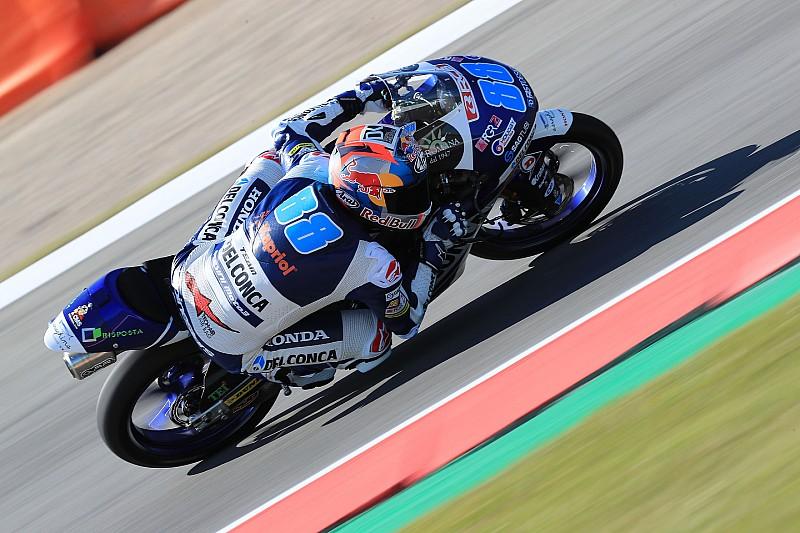 Martin si prende la 14esima pole in Moto3 ad Assen, prima fila per Bastianini e Bulega